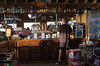 Bowens Island Restaurant Hidden Beer  Behemoth